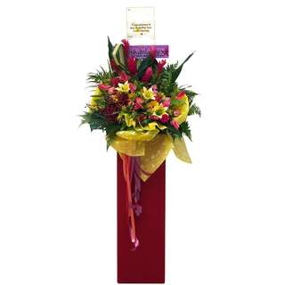🚚 Jubilant Floral Stand (Grand Opening Flowers)