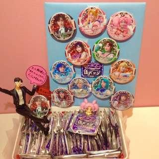 [PO] Sailor Moon Store Nogizaka46 Musical Can Badge