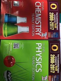 O Level yearly Ten-year series Chemistry/Physics