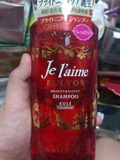 Je l'aime Fulvos bright and moist shampoo 500ml