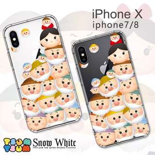 日本直送!Disney TsumTsum Snow White iPhone Case