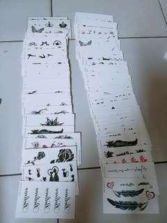 🚚 8張30紋身貼紙