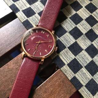 Marc by Marc Jacob Watch 手錶 酒紅色 女裝