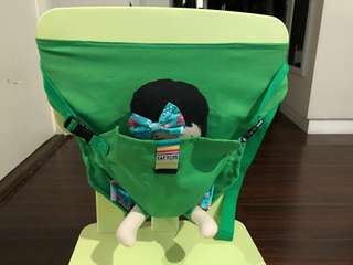 Baby chair strap