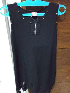 Dress hitam cammomile