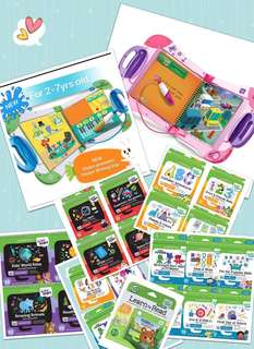 Leapfrog Leapstart Interactive Learning System and Activity Books