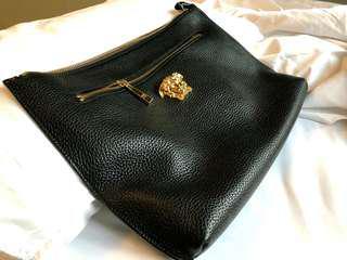 "100% Authentic Versace "" Medusa "" Leather Clutch"