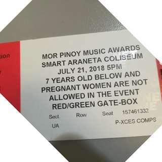 MOR Pinoy Music Awards Night