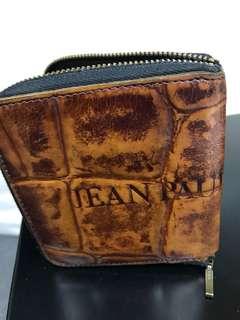 Jean Paul Gaultier Zipped Wallet