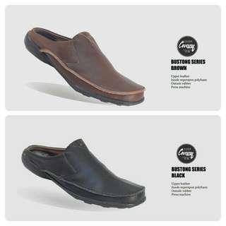 Sepatu Bustong pria Cevany Original - Sandal - Slip On