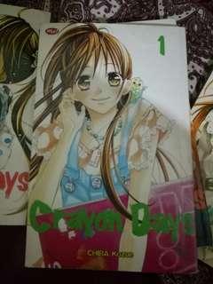 Komik Crayon Days Chiba Kozue Vol 1 - 4