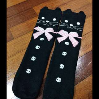 Harajuku style kitty socks