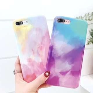 {#003} Watercolour Marble Phone Case