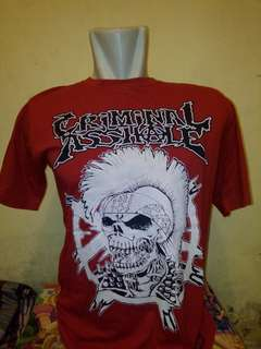 Kaos band punk lokal 01