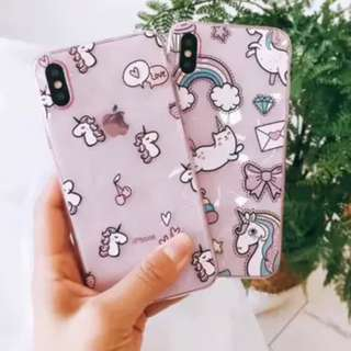 {#004} Unicorn Phone Case