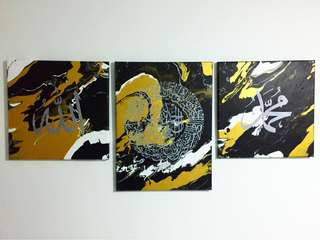 Ayat Series Marble Painting