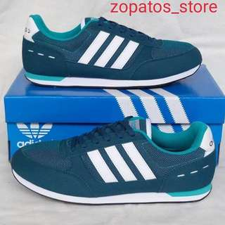 Adidas neo city racer cold green
