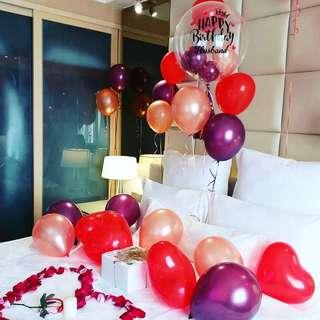 Romantic Surprise Hotel Room Decoration Event