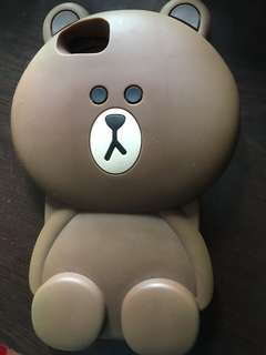 iPhone 6s Plus Line friend brown slipcase