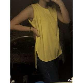 ForMe Yellow Sleeveless