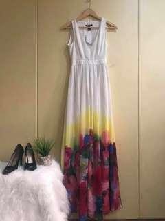 brand new mango maxi dress