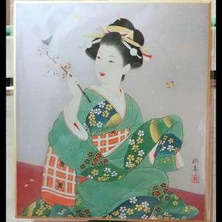 🆕 Japan art board (shikishi)