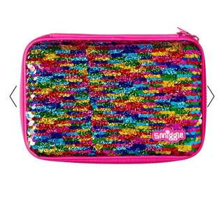 Smiggle Reverse Sequin Hardtop Pencil Case - available by August