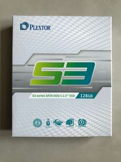 Plextor S3 SSD 128GB Storage