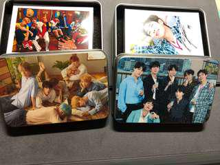 PO arrival (BTS lomo cards assorted based on events)