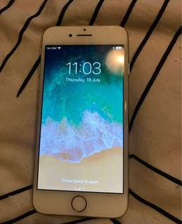 Iphone 7- 125gb with barely noticeable scratches or marks