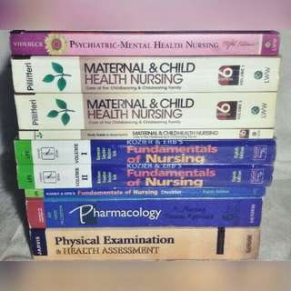 NURSING BOOKS BUNDLE