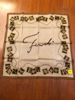 義大利fendi經典棉紗大方巾