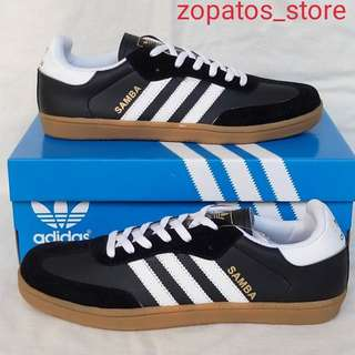 Adidas samba black white