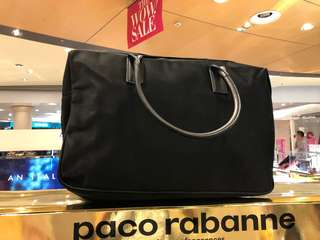 Paco rabanne travel bag