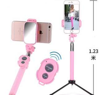 粉紅色自拍神器