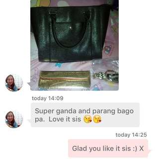Feedback from our very first Carousell customer 💖