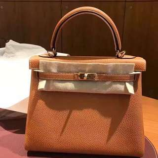 Hermes kelly 25 gold 金扣C stamp