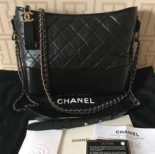 Chanel Gabrielle Medium Black