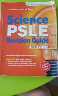 Science PSLE Revision Guide(2nd Edition)