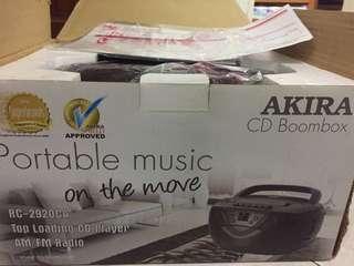 Akira CD Boombox