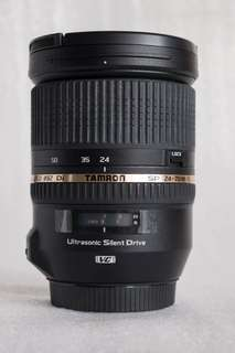 🚚 Tamron 24-70mm f2.8 Di VC USD (B+W 82mm UV MRC Nano)