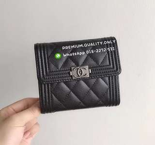 Chanel Le boy wallet