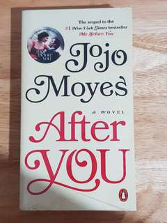 After You by Jojo Moyes novel / book