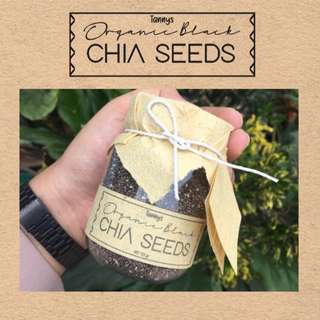 CHIA SEEDS ORGANIC BLACK 125gr