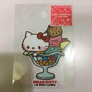 Hello Kitty x B-side Label 貼紙