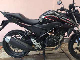 honda CB 150 R streetfire tahun 2015 black
