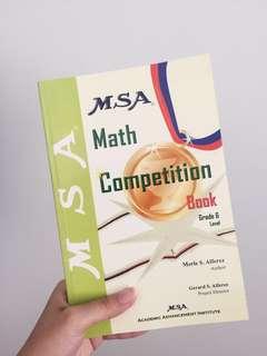 MSA Math Competition