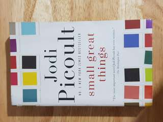 Small Great Things by Jodi Picoult novel / book