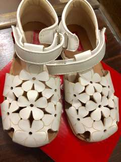 FP White Sandals USED ONLY ONCE