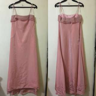 Your 6th Sense Pink gown